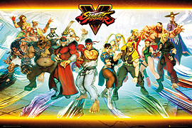 Street Fighter 5 Characters Maxi Poster 61x91.5cm Posters