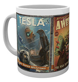 Fallout 4 Comics 10oz Boxed Mug Home - Tableware