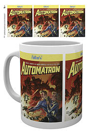 Fallout 4 Automatron 10oz Boxed Mug Home - Tableware