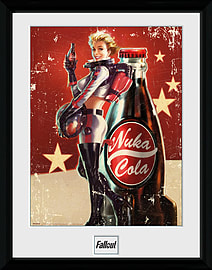 Fallout 4 Nuka Cola 30x40 Framed Collector Print Posters