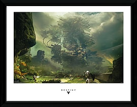 Destiny The Fortress 30x40 Framed Collector Print Posters