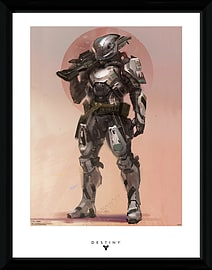 Destiny Titan 30x40 Framed Collector Print Posters