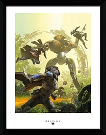 Destiny Vex 30x40 Framed Collector Print Posters