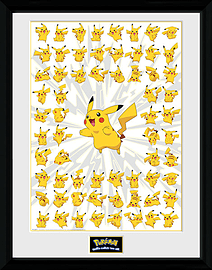 Pokemon Pikachu 30x40 Framed Collector Print Posters
