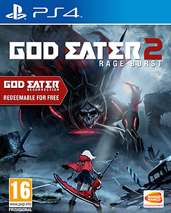 God Eater 2: Rage Burst PS4 Cover Art