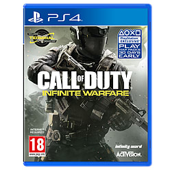 Call of Duty: Infinite Warfare PS4 Cover Art