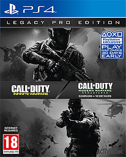 Call of Duty: Infinite Warfare - Legacy Pro Edition with Modern Warfare Remastered PS4 Cover Art