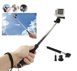 GoPro Handheld Extendable Monopod Selfie Stick Session HERO HD 4 3+ 3 2 1 Mobile phones