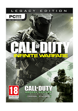 Call of Duty: Infinite Warfare - Legacy Edition with Modern Warfare Remastered PC Cover Art