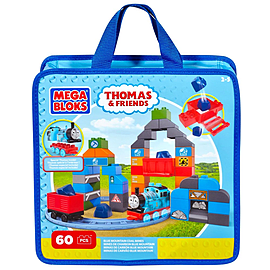 Mega Bloks Thomas and Friends Blue Mountain Coal Mine Building Set Blocks and Bricks