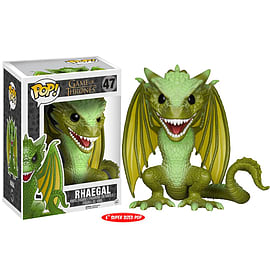 Funko POP Game Of Thrones: Super sized 6 Rhaegal Figurines and Sets