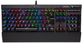 Corsair K70 RGB RAPIDFIRE Mechanical Gaming Keyboard screen shot 1