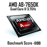 AMD A8 7650K Quad Core @ 3.70GHz, Radeon R7, 8GB Vengeance, 240GB SSD, CiT Goblin Green screen shot 2