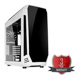 AMD A8 7650K Quad Core @ 3.70GHz, Radeon R7, 8GB Vengeance, 1TB Hard Drive, Bitfenix Aegis White PC