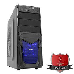 AMD A8 7650K Quad Core @ 3.70GHz, Radeon R7, 16GB Vengeance, 1TB Hard Drive, CiT Venom Blue PC