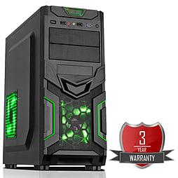 AMD A8 7650K Quad Core @ 3.70GHz, Radeon R7, 8GB Vengeance, 120GB SSD, CiT Goblin Green PC