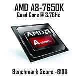 AMD A8 7650K Quad Core @ 3.70GHz, Radeon R7, 8GB Vengeance, 120GB SSD, CiT Goblin Green screen shot 2