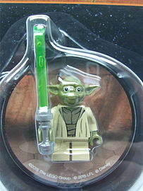Lego Star wars Yoda Magnet - 853476 Blocks and Bricks