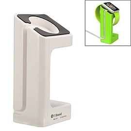 Desktop Charger Docking Station Stand Holder For New Apple Watch 38mm 42mm - White Mobile phones