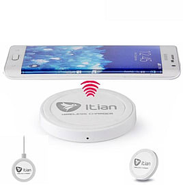 Universal QI-Enabled Wireless Charging Charger Transmitter Plate Tab For Smart Mobile Phones Mobile phones
