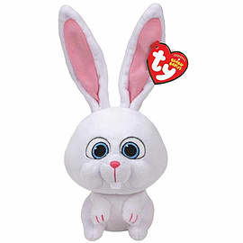 TY Beanie Babies Plush - Secret Life of Pets Movie Soft Toy - Snowball Soft Toys