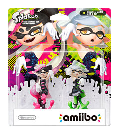 Callie & Marie Twin Pack - amiibo - Splatoon Collection Amiibo Cover Art