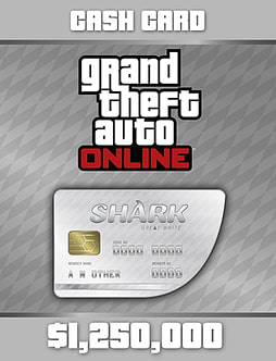 Grand Theft Auto V: Great White Shark Card PC Downloads Cover Art