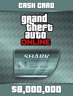 Grand Theft Auto V: Megalodon Card PC Downloads Cover Art