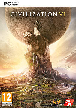 Sid Meier's Civilization VI PC Cover Art