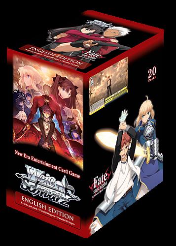 Buy Weiss Schwarz Fate Stay Night [Unlimited Blade Works