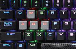 Corsair Gaming K65 RGB RapidFire, Black, RGB LED, Ten-Keyless, Cherry MX Speed Keyboard screen shot 3