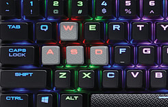 Corsair Gaming K70 LUX RGB, Black, RGB LED, Cherry MX Brown Keyboard screen shot 3