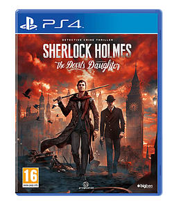 Sherlock Holmes: The Devil's Daughter PS4 Cover Art