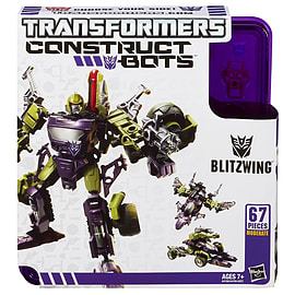 Transformers Construct-A-Bot Blitzwing Blocks and Bricks