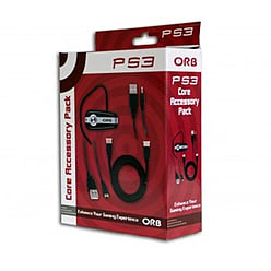 Orb Core Accessory Pack Headset HDMI Charging Cable for Playstation 3 PS3 PS4