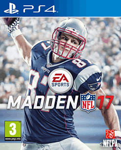 Madden NFL 17 PS4 Cover Art