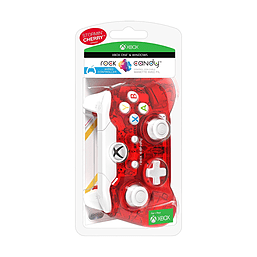 Rock Candy Wired Controller Stormin Cherry Red Microsoft XBox One XBOX ONE