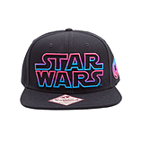 Star Wars Embroidered Neon Galactic Empire Logo Snapback Baseball Cap One S SB150822STW screen shot 1