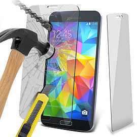N4U - Genuine Premium Tempered Glass Film Screen Protector for Samsung Galaxy S5 Neo Mobile phones
