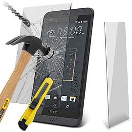 N4U - Genuine Premium Tempered Glass Film Screen Protector for HTC Desire 530 Mobile phones