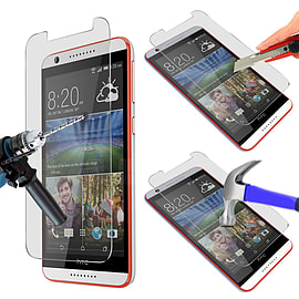 N4U - Genuine Premium Tempered Glass Film Screen Protector for HTC Desire 820 Mobile phones