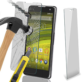 N4U - Genuine Premium Tempered Glass Screen Protector For The EE Harrier Mini Mobile phones