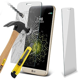 N4U - Genuine Premium Tempered Glass Film Screen Protector for LG G5 Mobile phones