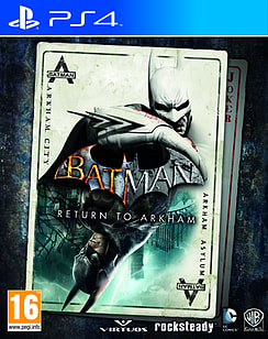 Batman: Return To Arkham PS4 Cover Art