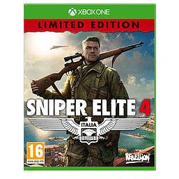 Sniper Elite 4 Limited Edition XBOX ONE Cover Art