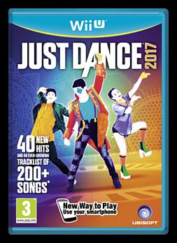 Just Dance 2017 Wii U Cover Art