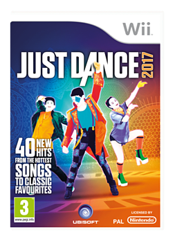 Just Dance 2017 Wii Cover Art