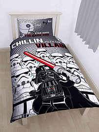 Lego Star Wars Villains Single Duvet Cover Set Polycotton Home - Accessories