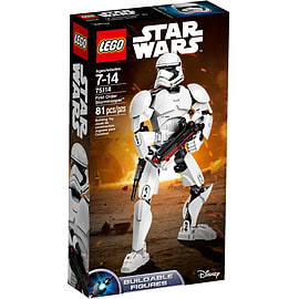 Lego Star Wars First Order Stormtrooper Buildable Figure 75114 Blocks and Bricks