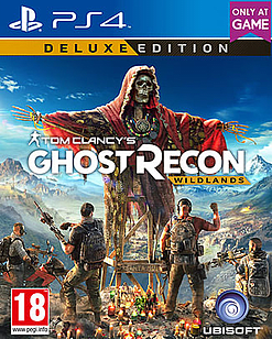 Tom Clancy's Ghost Recon: Wildlands Deluxe Edition PS4 Cover Art